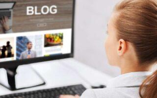 een blog maken en een blog schrijven